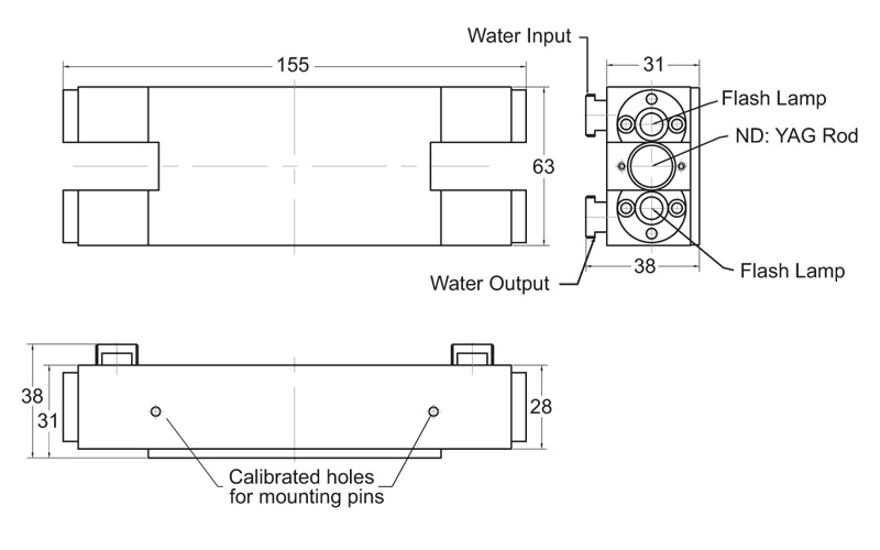 TM3 series pump chamber drawing