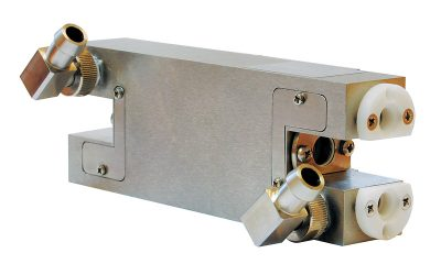 TM3 series pump chamber for two FL type flashlamps