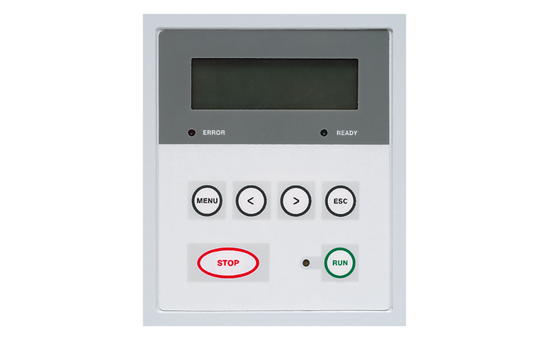Fig. 2. Front panel controls of PS5050 flashlamp driver