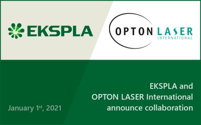 EKSPLA and Opton Laser International announce collaboration