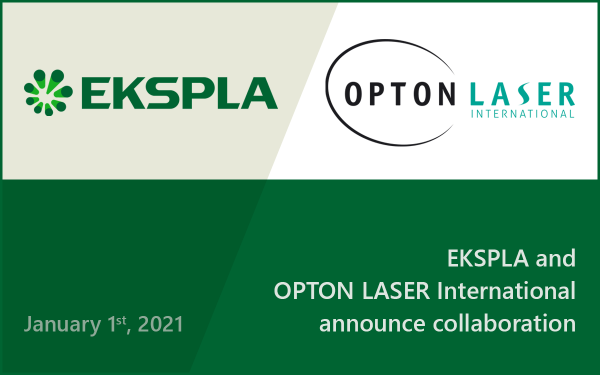 EKSPLA and Opton Laser International announce collaboration