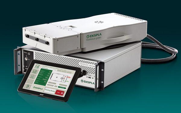 FemtoLux green is a modern compact femtosecond fiber