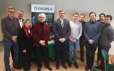 Nobel Prize winner prof. Gerard Mourou visited Ekspla