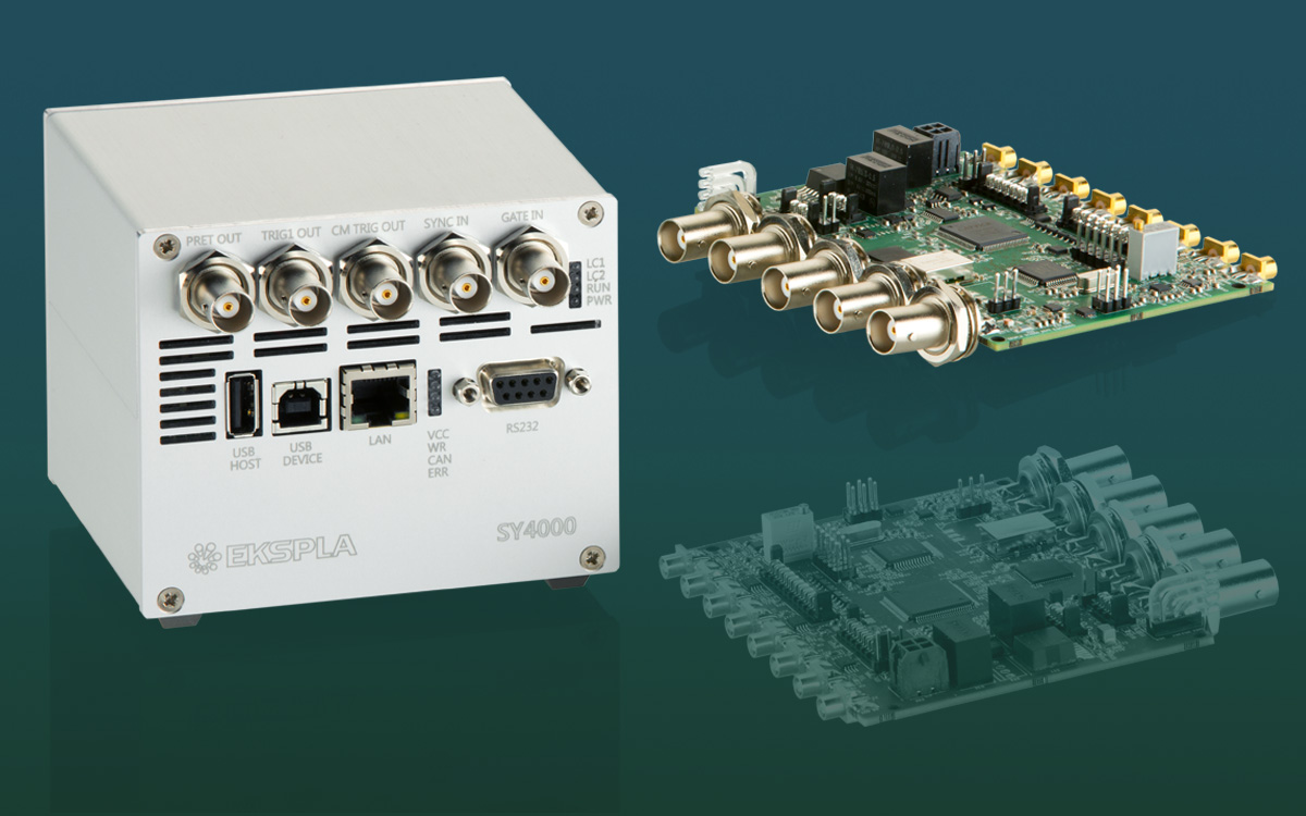 Precisely trigger up to 8 channels synchronization module and pulse delay generator SY4000