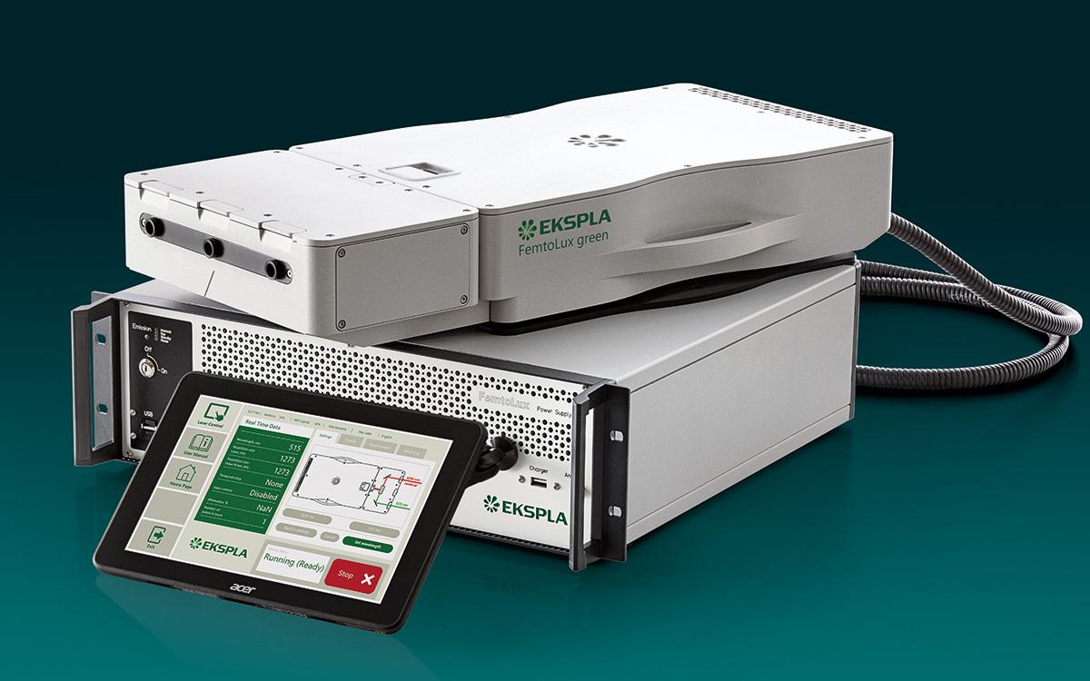 FemtoLux 3-GR femtosecond microjoule class fiber laser