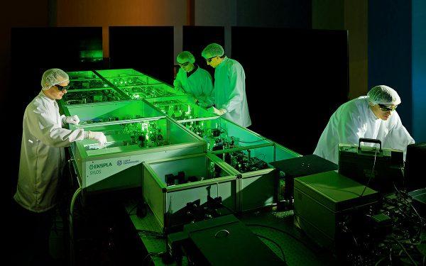 SYLOS laser system