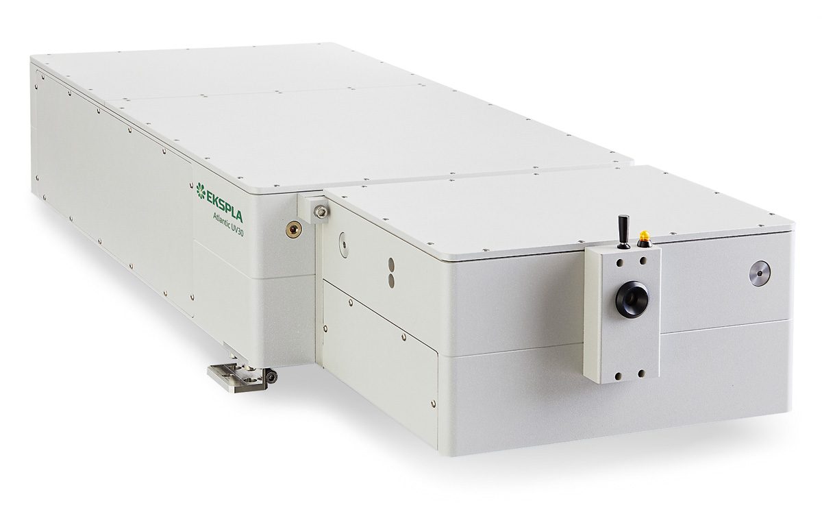 Typical view of Atlantic UV30 laser head
