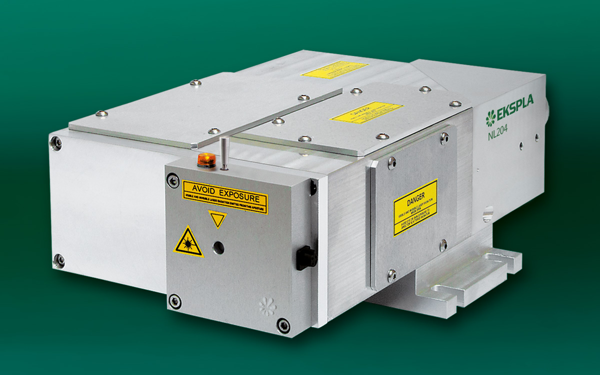 NL200 series Compact Q-switched DPSS Lasers — Ekspla