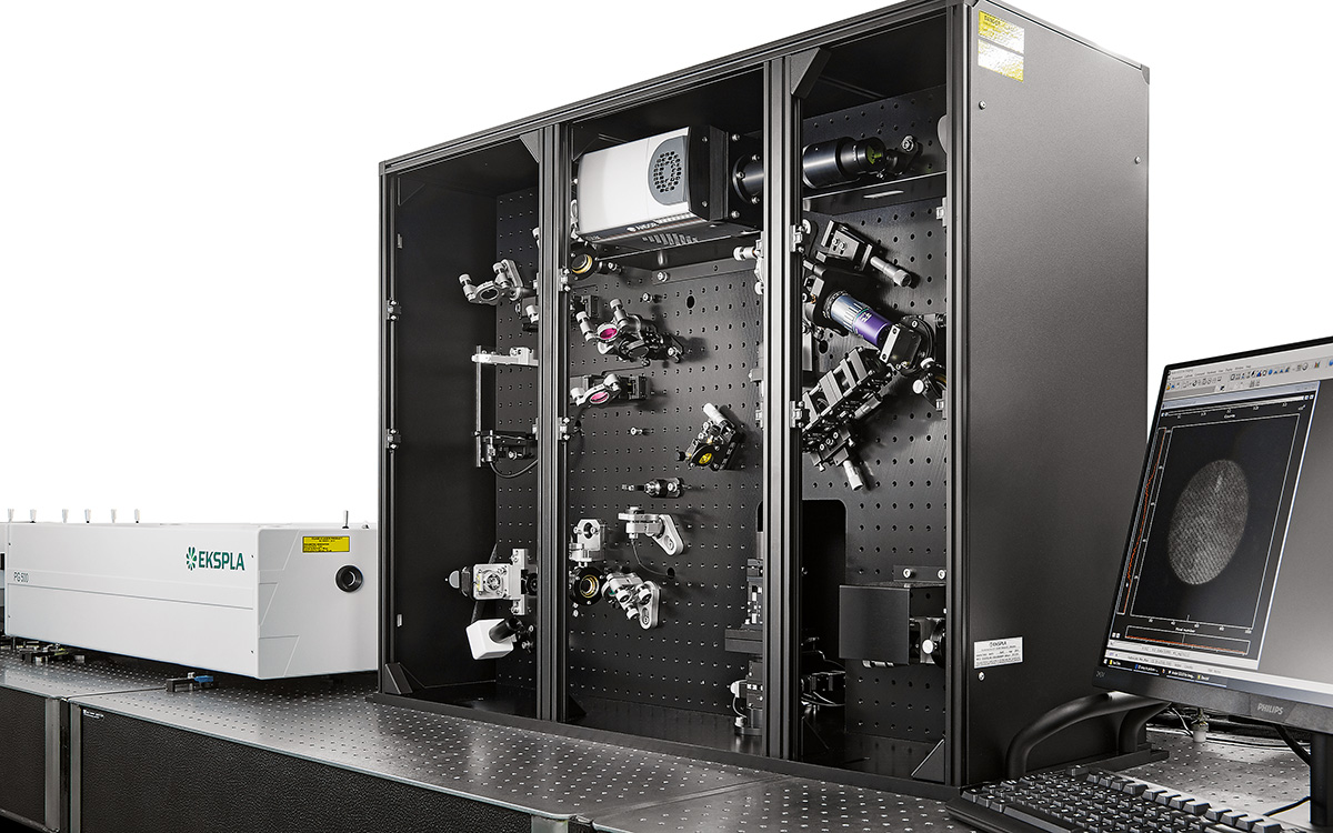SFG microscope and Classic SFG spectrometer in one unit