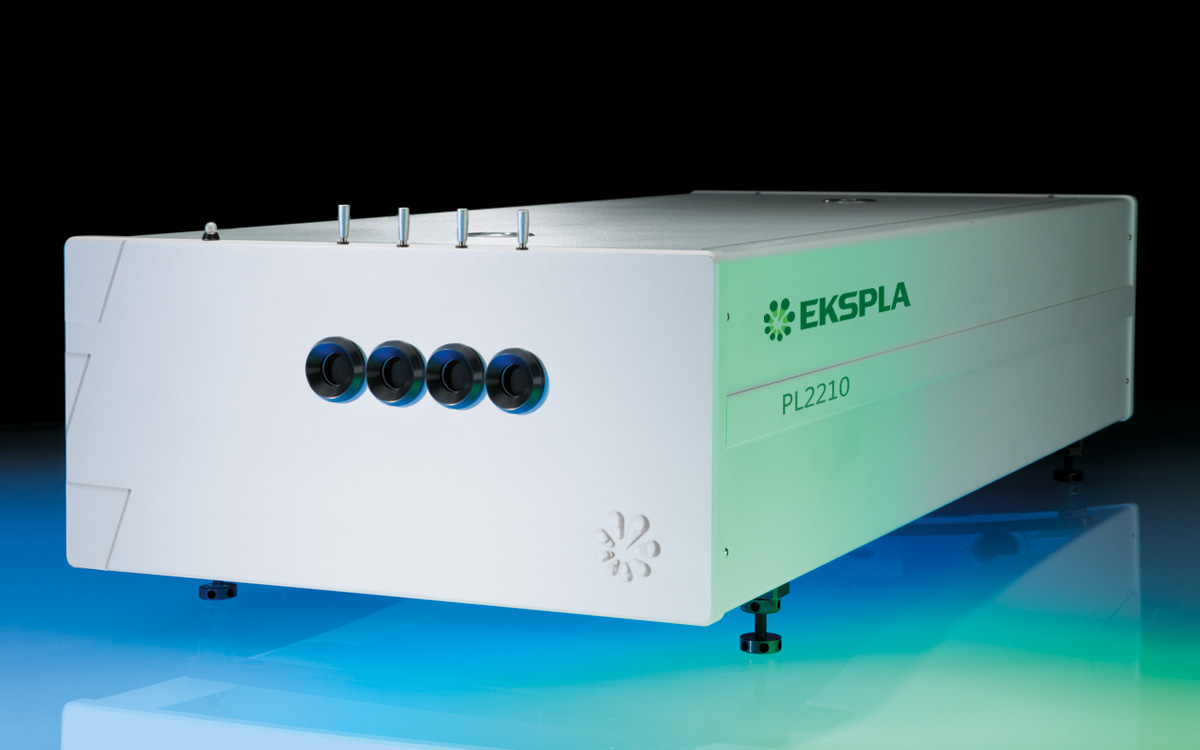 PL2210 series diode pumped picosecond mode-locked NdYAG laser